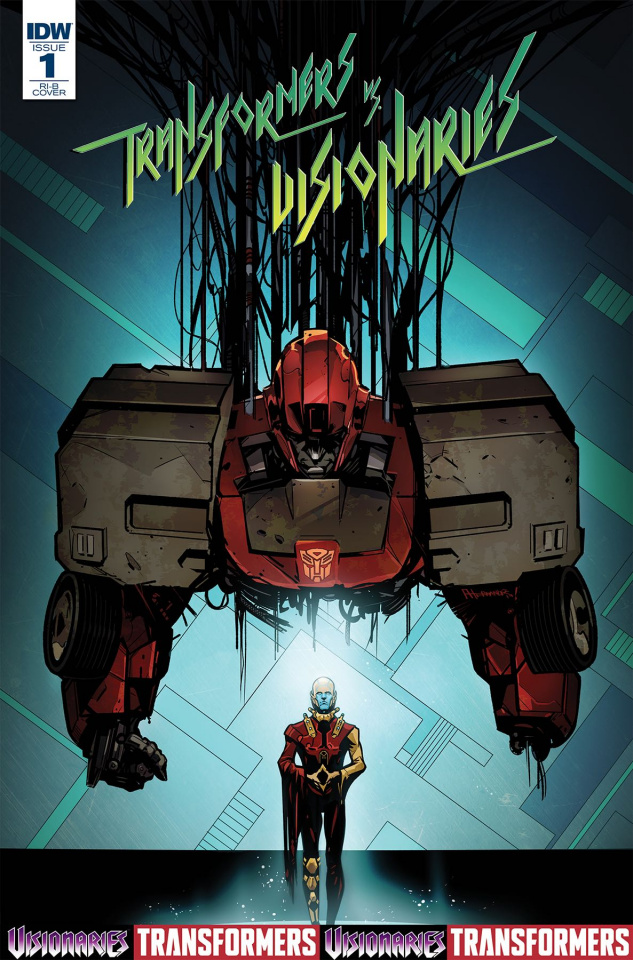 The Transformers vs. The Visionaries #1 (10 Copy Cover)
