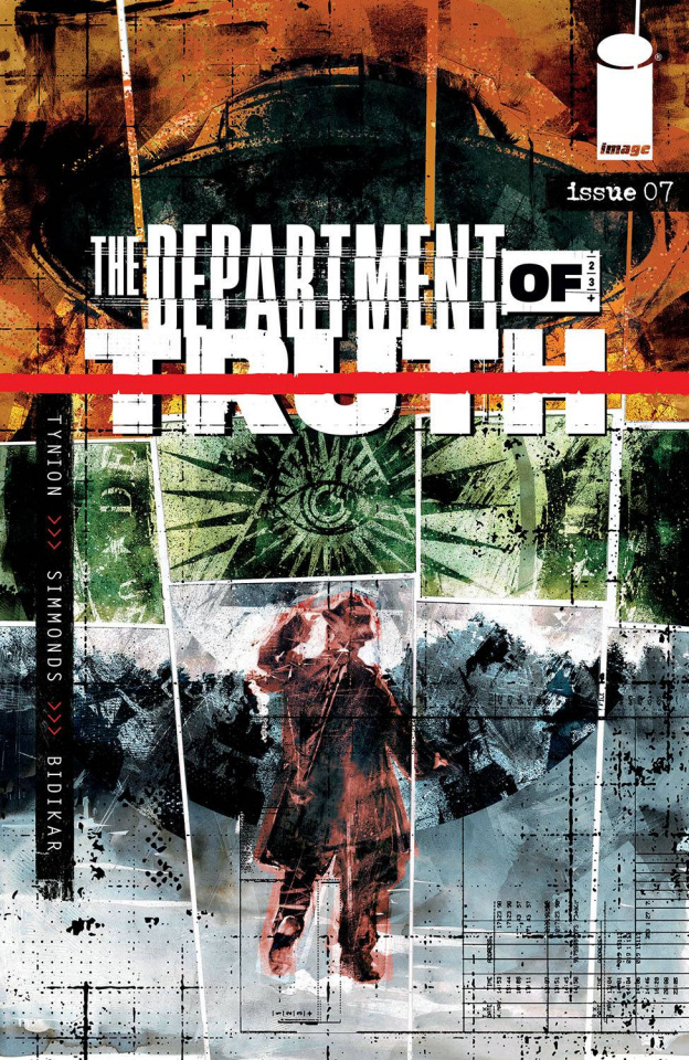 The Department of Truth #7 (Simmonds Cover)