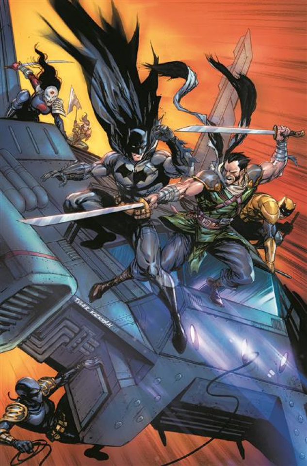 Batman and The Outsiders Vol. 3: The Demon's Fire