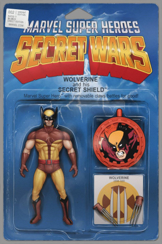 Secret Wars #2 (Christopher Action Figure Cover)