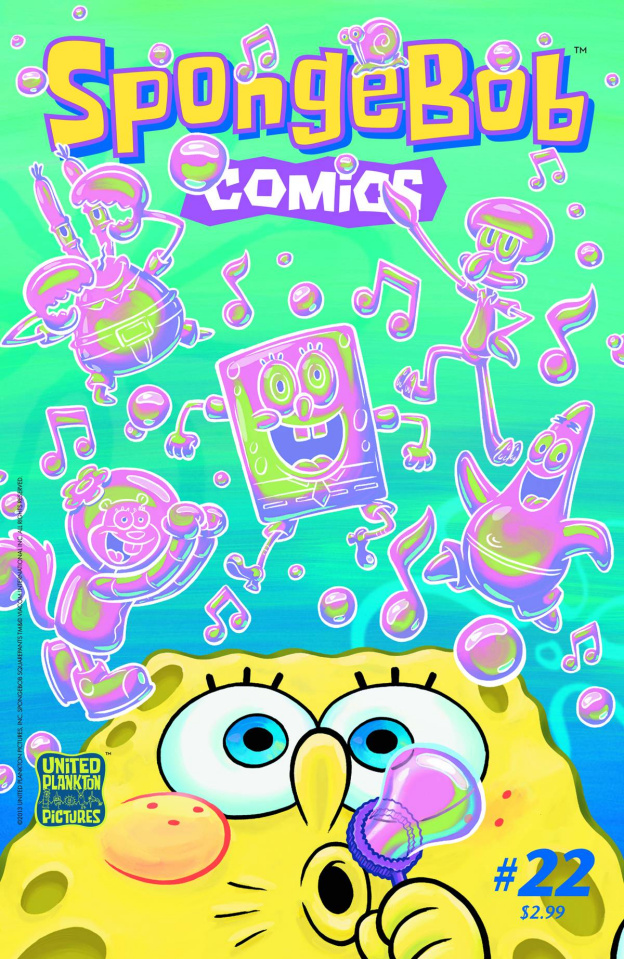 Spongebob Comics #22