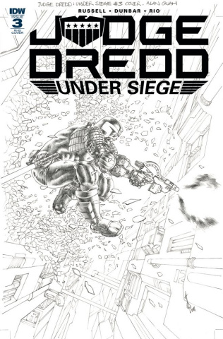 Judge Dredd: Under Siege #3 (15 Copy Quah Cover)