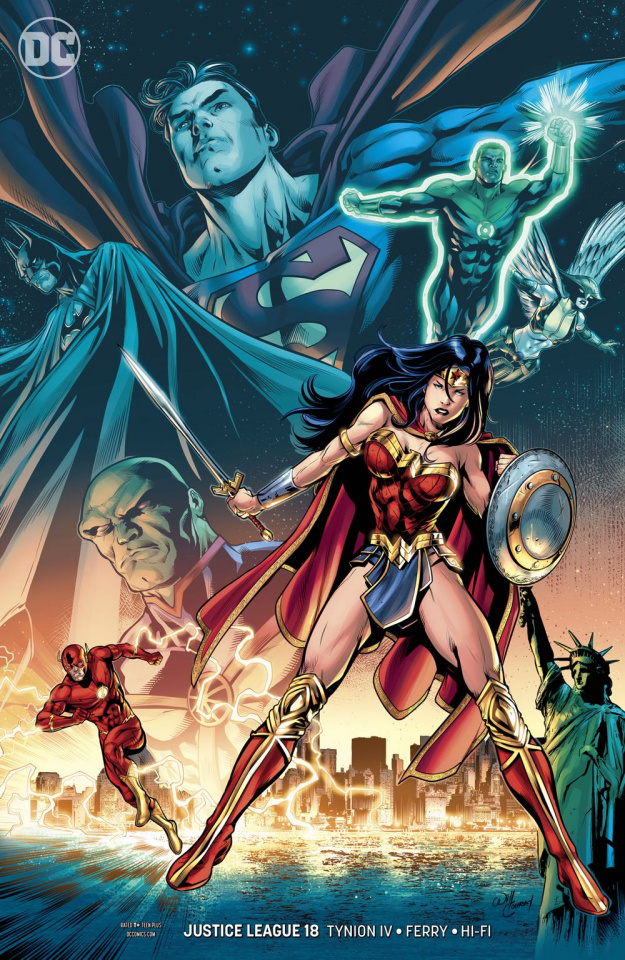 Justice League #18 (Variant Cover)