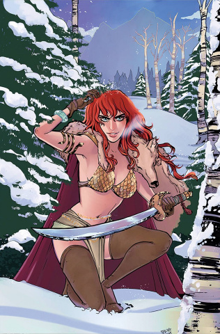 Red Sonja #25 (15 Copy Anwar Virgin Cover)