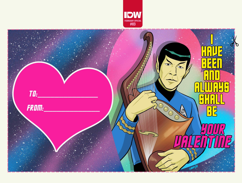 Star Trek: Year Five Valentines Day Special (10 Copy Charm Cover)
