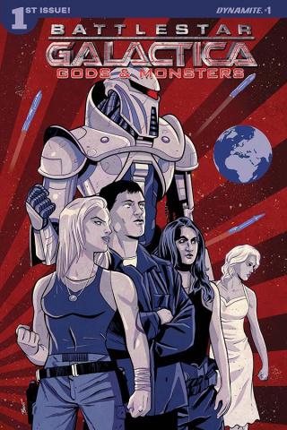 Battlestar Galactica: Gods & Monsters #1 (Schoonover Cover)