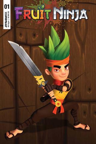 Fruit Ninja #1 (Game Play Cover)