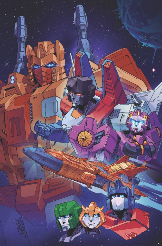 The Transformers #9 (Miyao Cover)
