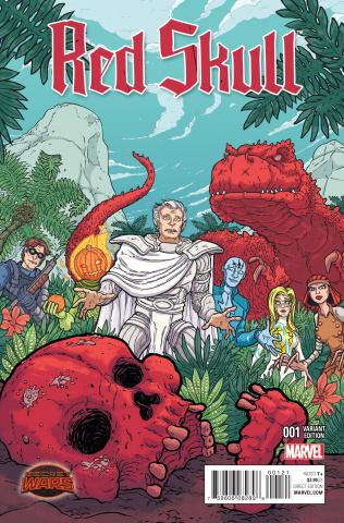 Red Skull #1 (Pittara Cover)