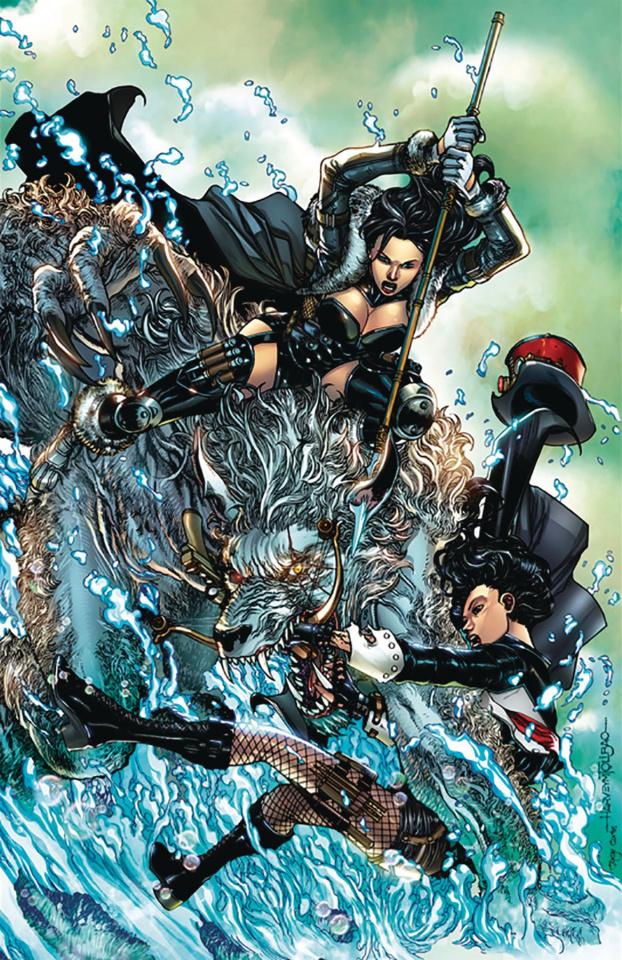 Van Helsing vs. The Werewolf #5 (Tolibao Cover)