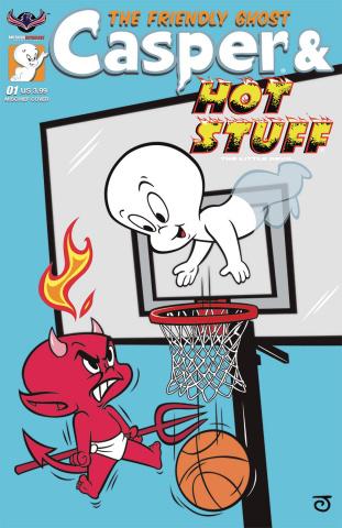 Casper & Hot Stuff #1 (Scherer Mischief Cover)
