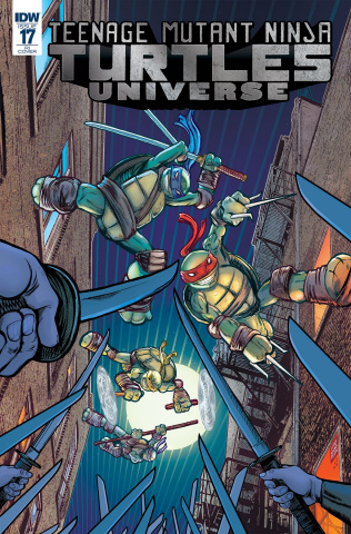 Teenage Mutant Ninja Turtles Universe #17 (10 Copy Cover)