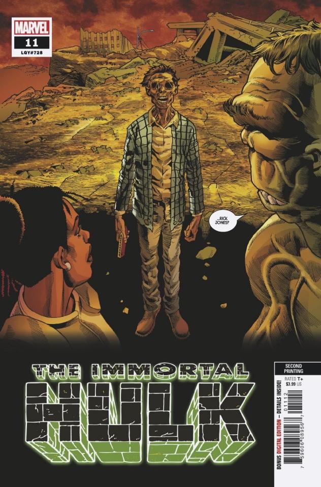 The Immortal Hulk #11 (Bennett 2nd Printing)
