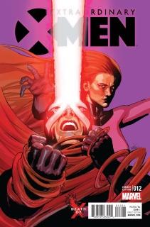 Extraordinary X-Men #12 (Yu Death of X Cover)