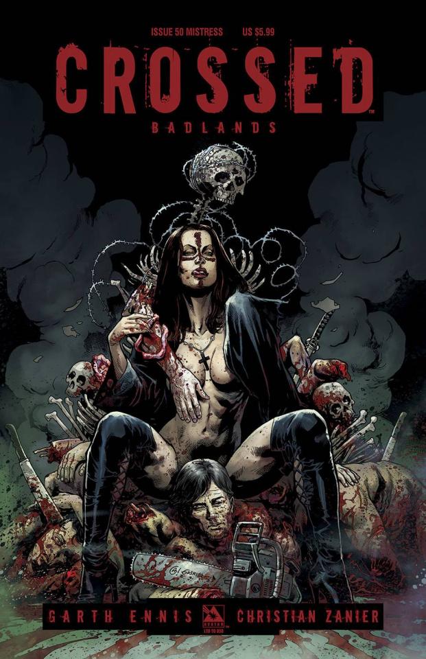 Crossed: Badlands #50 (Mistress Cover)