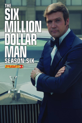 The Six Million Dollar Man, Season 6 #3 (Subscription Cover)