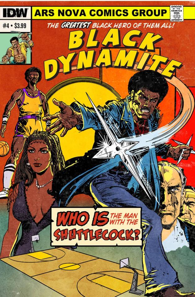Black Dynamite #4