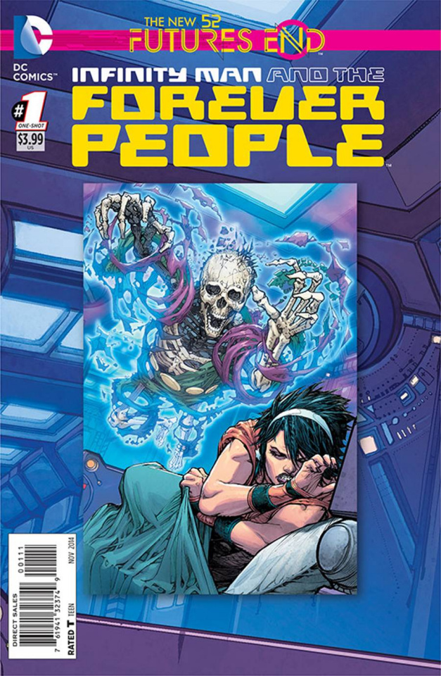 Infinity Man and the Forever People: Future's End #1