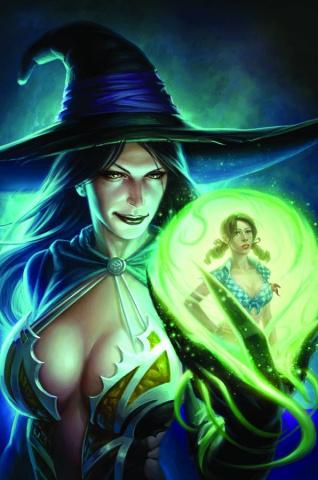 Grimm Fairy Tales: Oz #4 (Capprotti Cover)