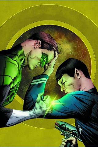 Star Trek / Green Lantern #1 (Lee Cover)