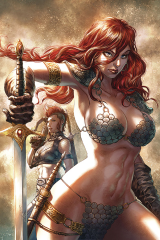 Red Sonja: Age of Chaos #3 (Quah Virgin Cover)