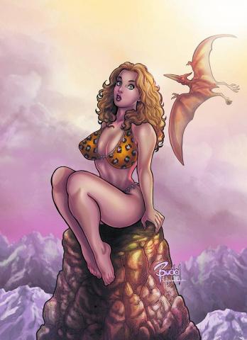 Cavewoman: Killing Dinos 101 (Summer Break Cover D)
