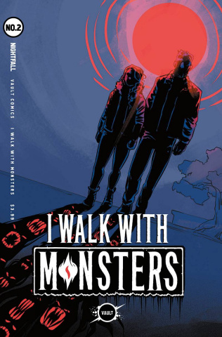 I Walk With Monsters #2 (Hickman Cover)