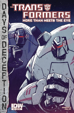 The Transformers: More Than Meets the Eye #37 (Subscription Cover)