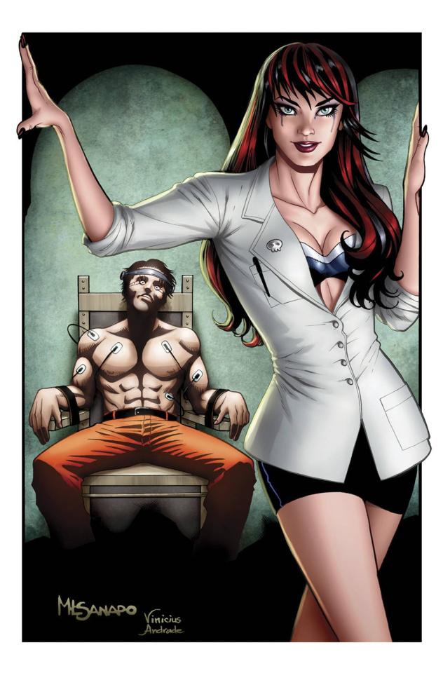 Grimm Fairy Tales: Grimm Tales of Terror #4 (Sanapo Cover)