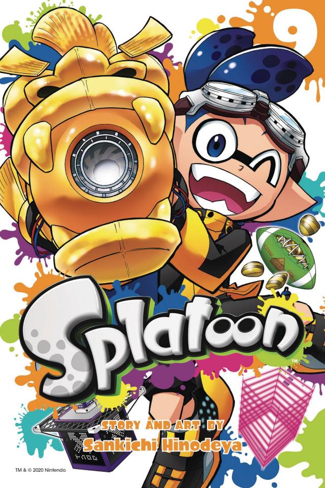 Splatoon Vol. 9
