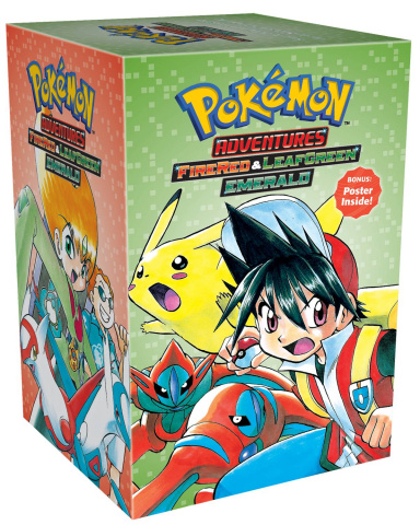 Pokémon Adventures: Firered & Leafgreen Emerald Box Set