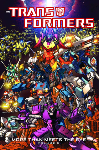 The Transformers: More Than Meets the Eye Vol. 5
