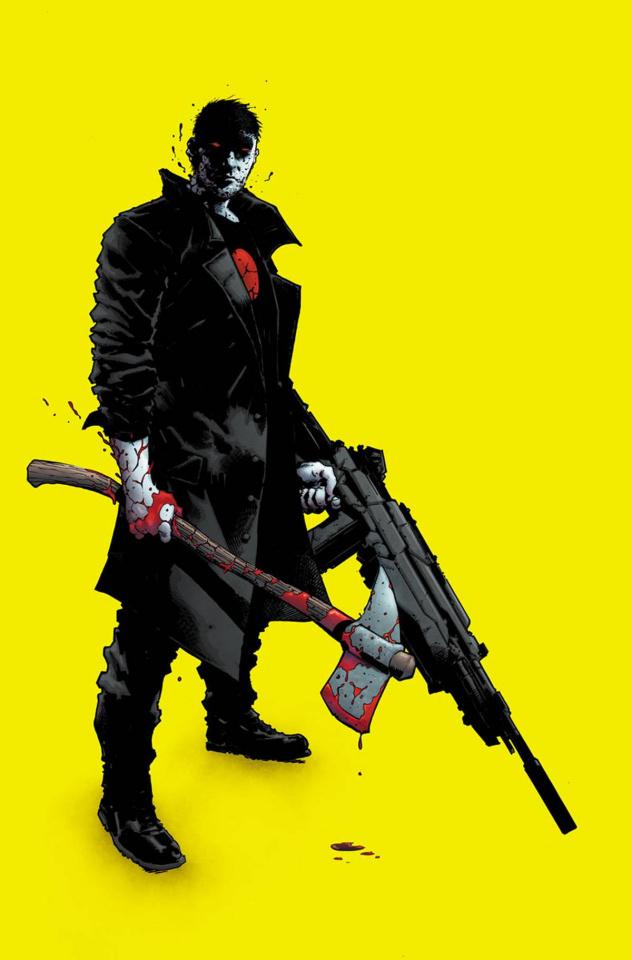 Bloodshot: Reborn #7 (Hairsine Cover)