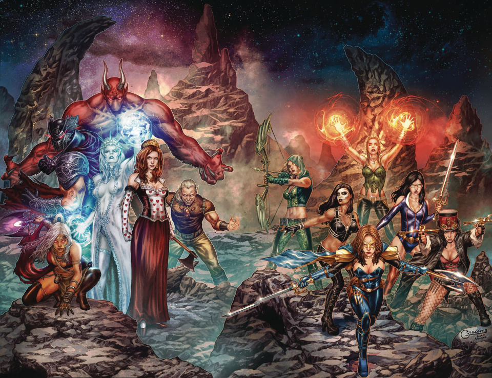 Grimm Fairy Tales: Jasco Games #1 (Vigonte Cover)