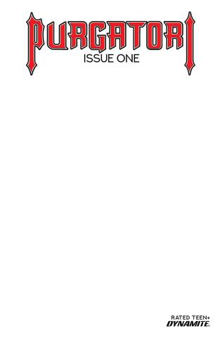 Purgatori #1 (Blank Authentix Cover)