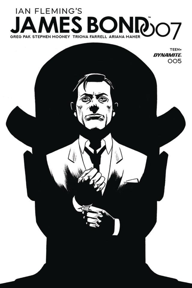 James Bond: 007 #5 (20 Copy Gorham B&W Cover)