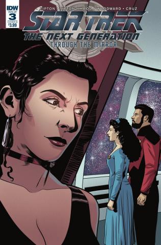 Star Trek: The Next Generation - Through the Mirror #3 (Hood Cover)