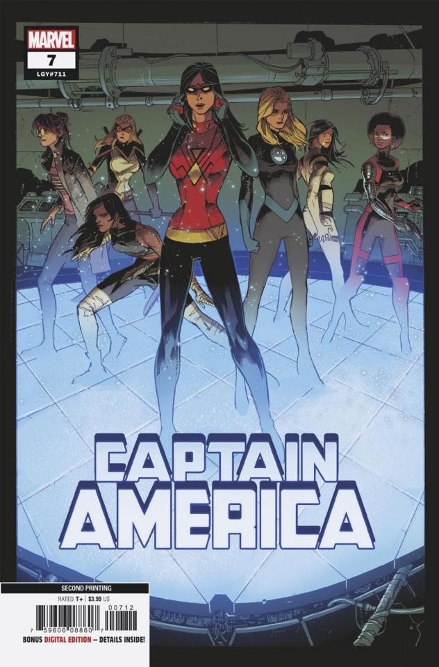 Captain America #7 (Kubert 2nd Printing)