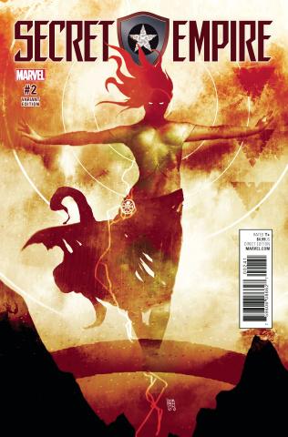 Secret Empire #2 (Sorrentino Hydra Heroes Cover)