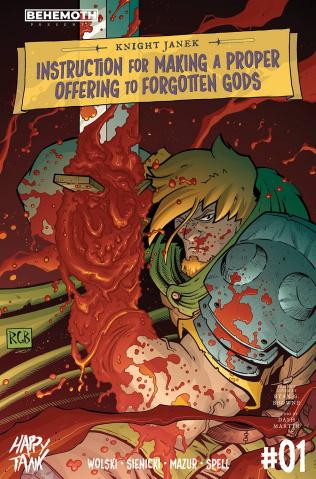 Knight Janek #1 (Browne Cover)