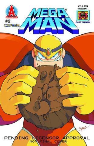 Mega Man #2 (Villain Cover)