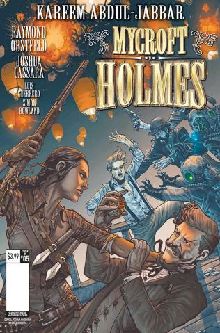 Mycroft Holmes #5 (Cassara Cover)