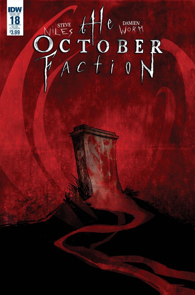 The October Faction #18 (Subscription Cover)