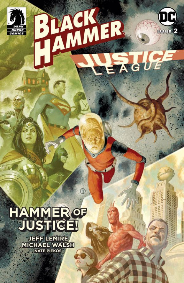 Black Hammer / Justice League #2 (Scalera Cover)
