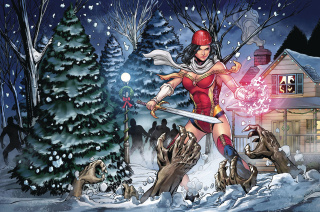 Grimm Fairy Tales 2017 Holiday Special (Atkins Cover)