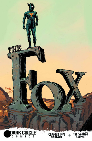 The Fox #5 (Hack Cover)