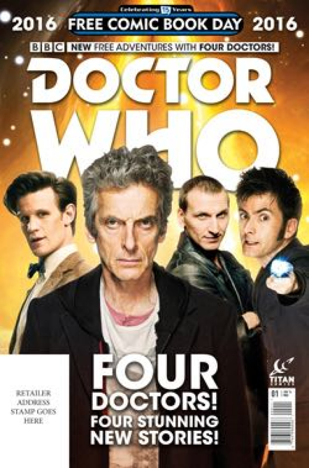 Doctor Who: Four Doctors (FCBD 2016 Edition)