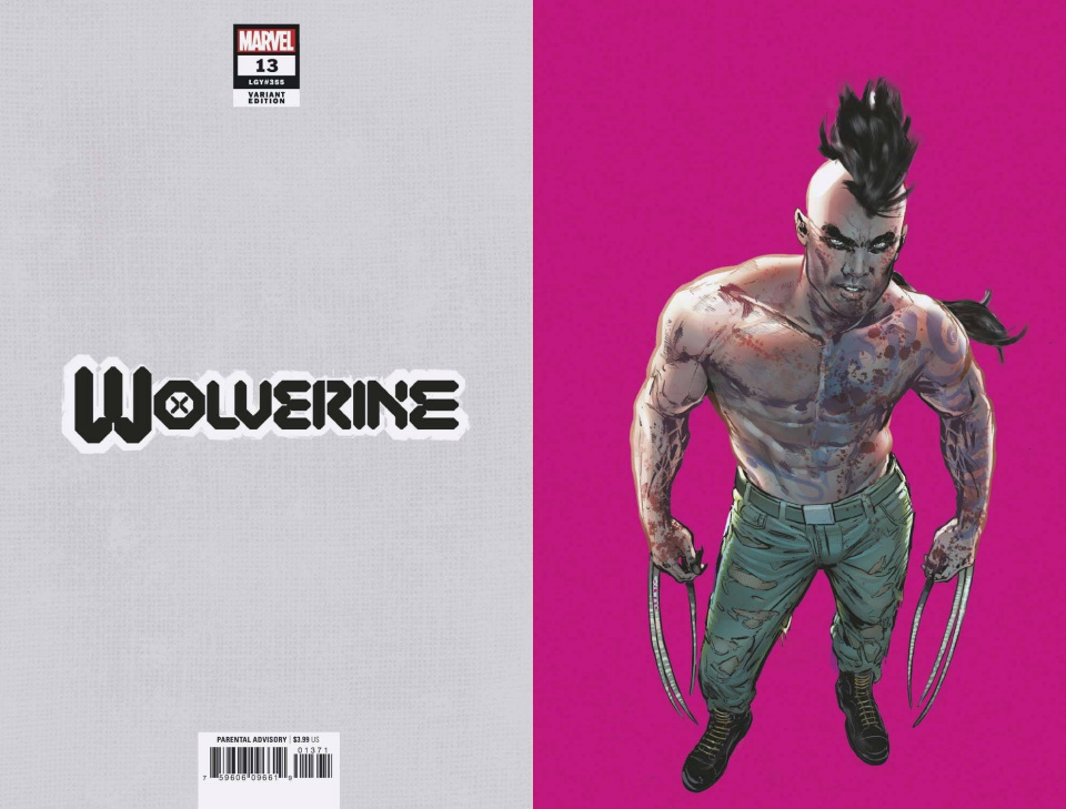 Wolverine #13 (Jimenez Pride Month Virgin Cover)