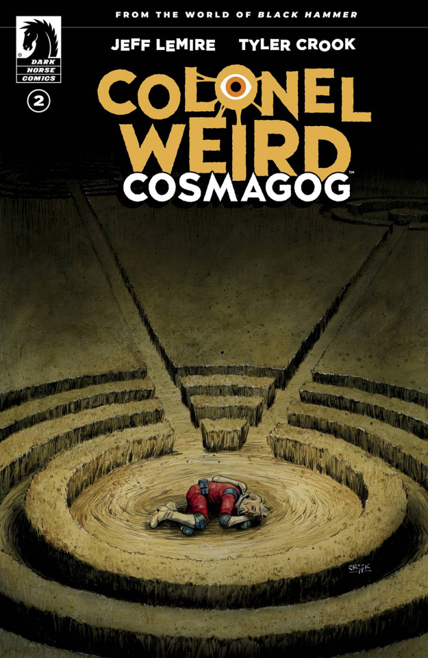 Colonel Weird: Cosmagog #2 (Crook Cover)