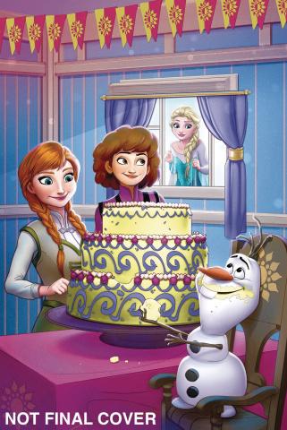 Frozen: Breaking Boundaries #2 (Francisco Cover)